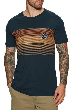Quiksilver New Stripes s Short Sleeve T-Shirt - Navy Blazer