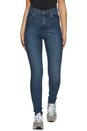 Dr Denim Moxy Sky High Waist Super Skinny s Jeans - Westcoast Dark