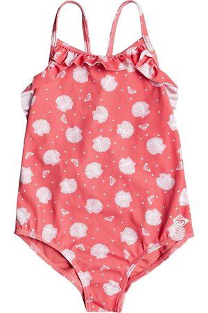 Roxy Teeny Everglow Girls Swimsuit - Desert Rose Shella