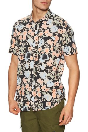 RVCA Pressure Drop s Short Sleeve Shirt - Pirate