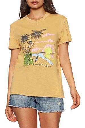 Volcom Lock It Up s Short Sleeve T-Shirt - Dust