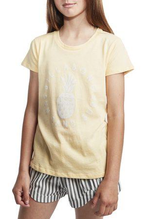Billabong Sand And Surf Girls Short Sleeve T-Shirt - Canary