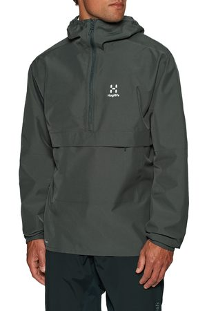 Haglöfs Spira Anorak s Waterproof Jacket - Magnetite