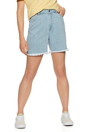 Afends Shelby Hemp Denim Cut Off s Shorts - Stone