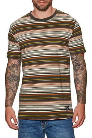 Quiksilver Ben Tre s Short Sleeve T-Shirt - Ben Tre Turkish Coffee