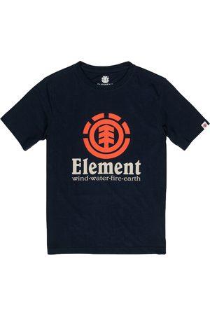 Element Vertical Boys Short Sleeve T-Shirt - Flint