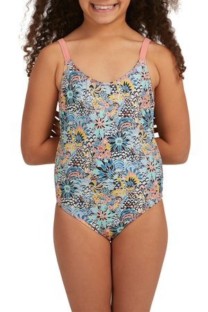 Roxy X Liberty Marine Bloom Girls Swimsuit - Powder Puff Flower Party Girl