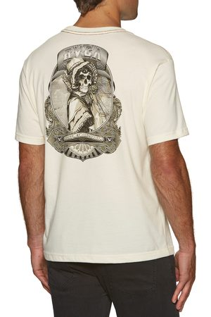 RVCA Skull Bonnet s Short Sleeve T-Shirt - Antique