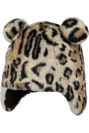 Barts Doozy Earflap Girls Hat - Leopard