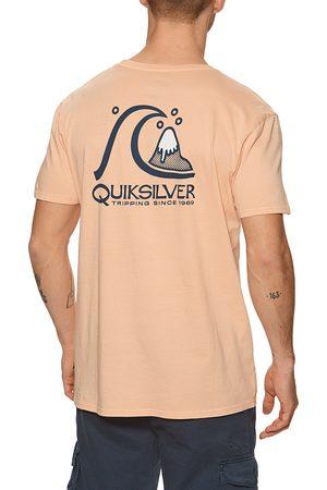 Quiksilver Fresh Take s Short Sleeve T-Shirt - Apricot