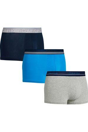 Calvin Klein Trunk 3 Pack s Boxer Shorts - New Navy/grey Heather/deep Sky