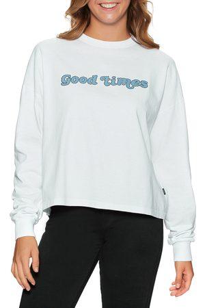 Dr Denim Linnea s Long Sleeve T-Shirt - Good Print