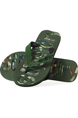 Superdry Scuba Infill Flip Flop s Sandals - Olive
