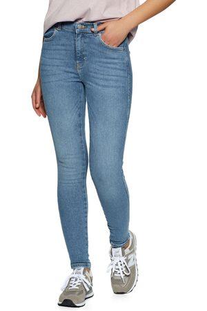 Dr Denim Lexy Mid Waist Super Skinny s Jeans - Westcoast Sky