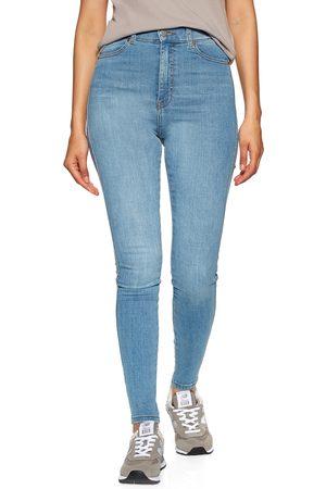 Dr Denim Moxy Sky High Waist Super Skinny s Jeans - Hurricane Light