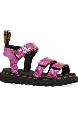 Dr Martens Klaire Girls Sandals - Reptile Emboss