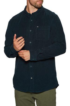 Quiksilver Smoke Trail s Shirt - Navy Blazer