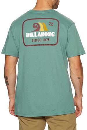 Billabong Walled s Short Sleeve T-Shirt - Light Marine