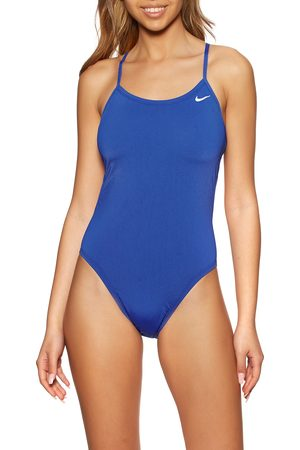 Nike Swim Poly Solid Hydrastrong Cut-out Swimsuit - Game Royal