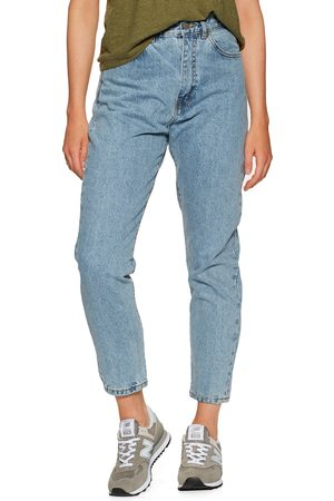 Dr Denim Women High Waisted - Nora Sky High Waist Mom s Jeans - Light Retro