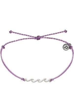 Pura Vida Silver Wave Bracelet - Light