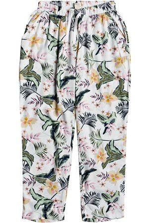 Roxy Peaceful Beach Girls Trousers - Snow Praslin