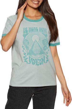 Volcom Truly Ringer s Short Sleeve T-Shirt - Fog