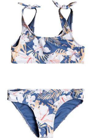 Roxy Swim Lovers Girls Bikini - Moonlight Team Garden