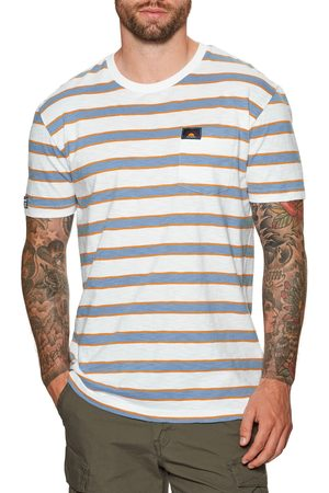 Superdry Cali Surf Relaxed Fit s Short Sleeve T-Shirt - Optic Multi