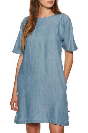 Superdry Tencel Tshirt Dress - Light Wash