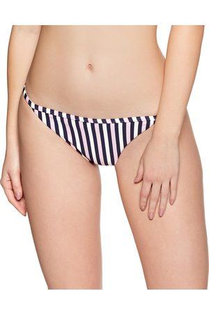 Jack Wills Midgrove String Bikini Bottoms - Navy Stripe