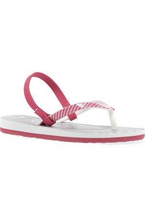 Roxy Pebbles Vip Girls Flip Flops - Bright Rose