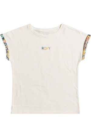 Roxy X Liberty Marine Bloom Girls Short Sleeve T-Shirt - Powder Puff