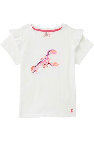 Joules Gaze Girls Short Sleeve T-Shirt - Lobster