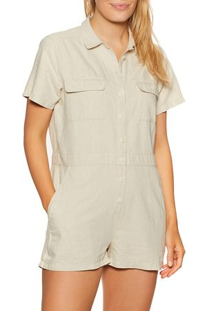OUTERKNOWN S.e.a. Shortall Playsuit - Natural