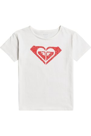 Roxy Day And Night Girls Short Sleeve T-Shirt - Snow
