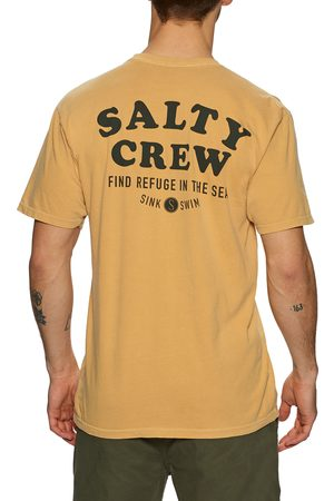 Salty Crew Inlet Overdyed s Short Sleeve T-Shirt