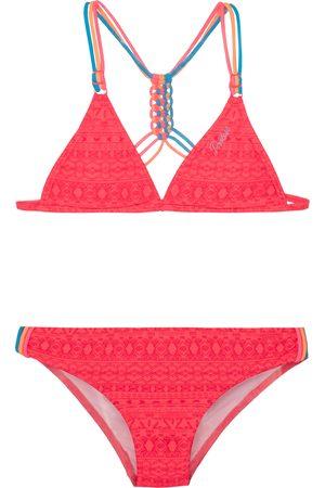 Protest Fimke 21 Jr Triangle Girls Bikini - Grenadine