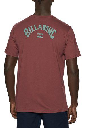 Billabong Arch Wave s Short Sleeve T-Shirt - Oxblood