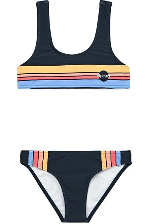 Rip Curl Golden State Girls Bikini - Navy
