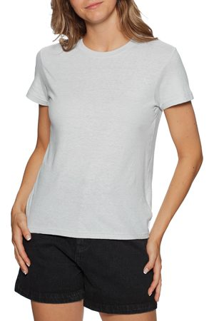 Afends Hemp Basics s Short Sleeve T-Shirt - Glacier