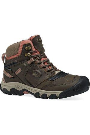 Keen Ridge Flex Mid Waterproof s Walking Boots - Timberwolf Brick Dust