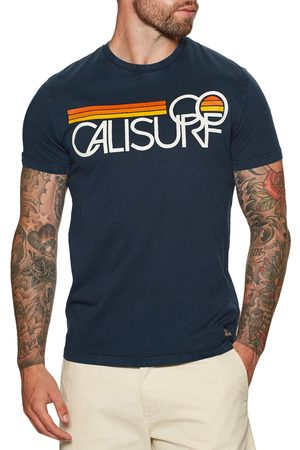 Superdry Cali Surf Graphic 180 s Short Sleeve T-Shirt - Nautical Navy