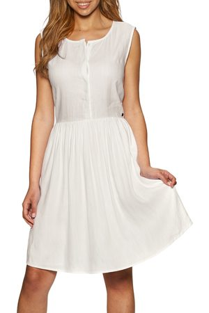 Superdry Textured Day Dress - Optic