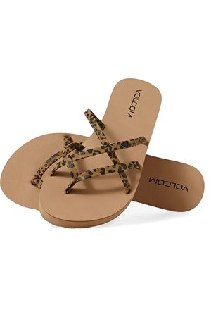 Volcom New School II s Sandals - Cheetah