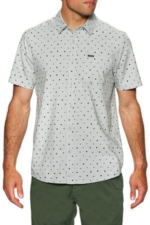 Volcom Hallock s Short Sleeve Shirt - Tower Grey