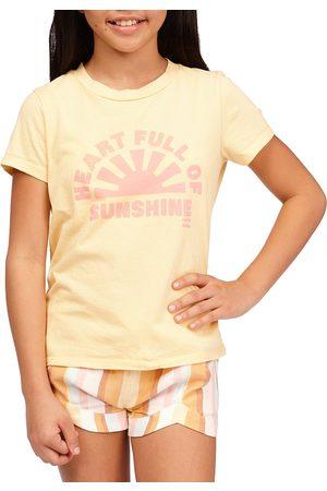 Billabong Heart Of Sunshine Girls Short Sleeve T-Shirt - Mimosa