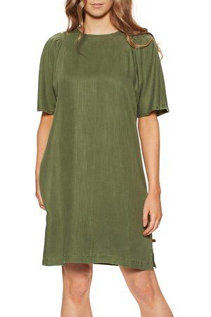 Superdry Tencel Tshirt Dress - Four Leaf Clover