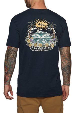 Quiksilver Hypnotic Bliss s Short Sleeve T-Shirt - Navy Blazer