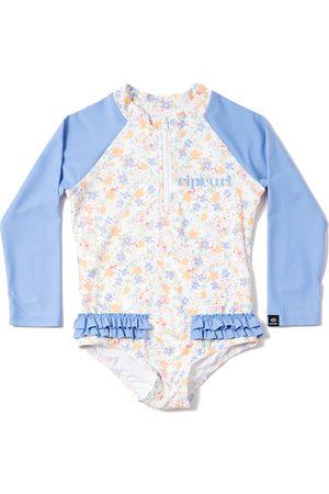 Rip Curl Girls 0-6 Long Sleeve Surfsuit Baby Rash Vest